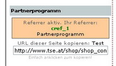 Partnerprogramm-Box